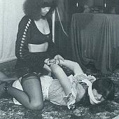 Vintage thraldom drawing bondage.