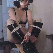 Servitude fetish bondage.
