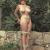 Vintage outdoor bondage.