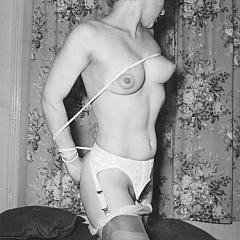Vintage bondage.